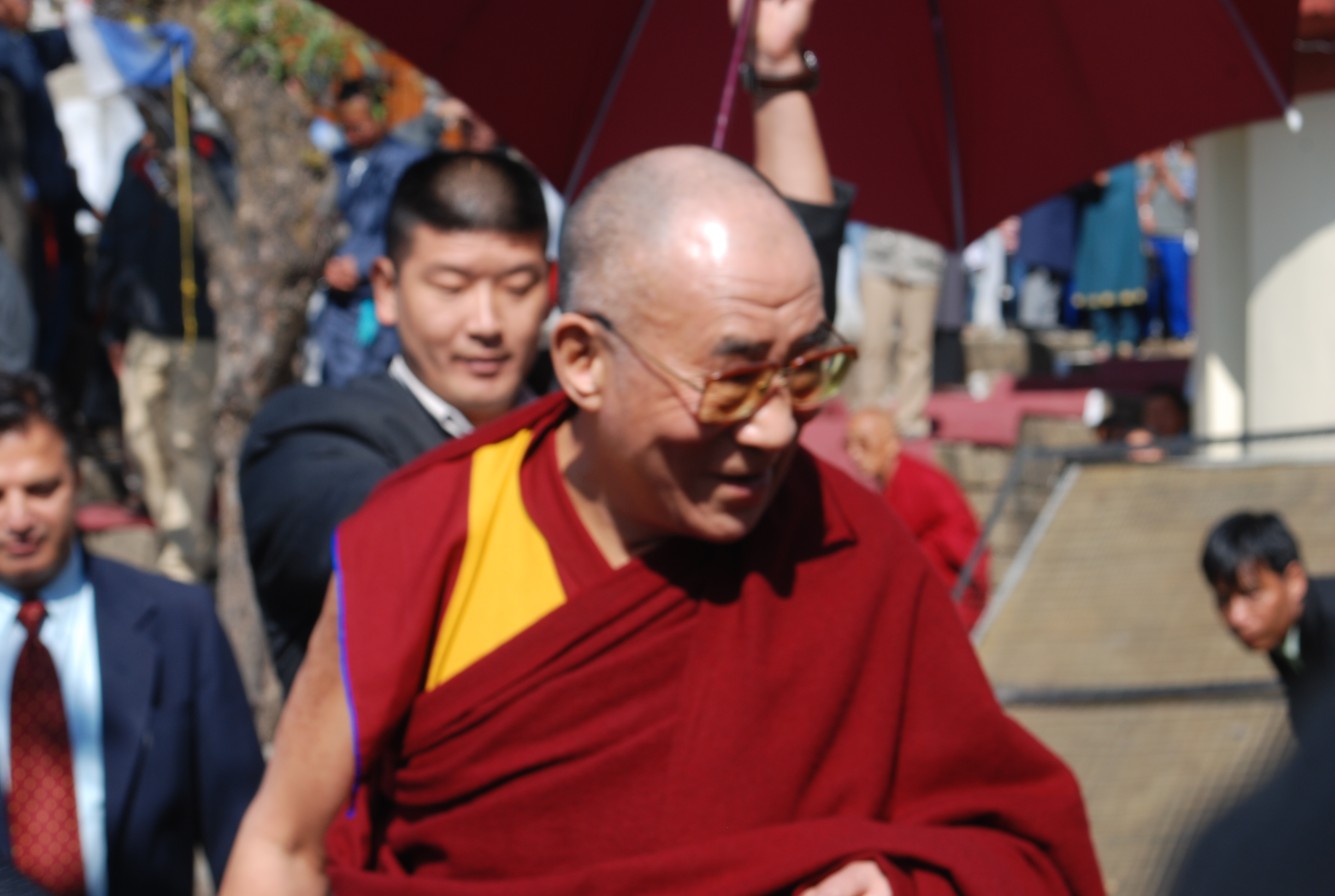 The Dalai Lama in Macleodganj