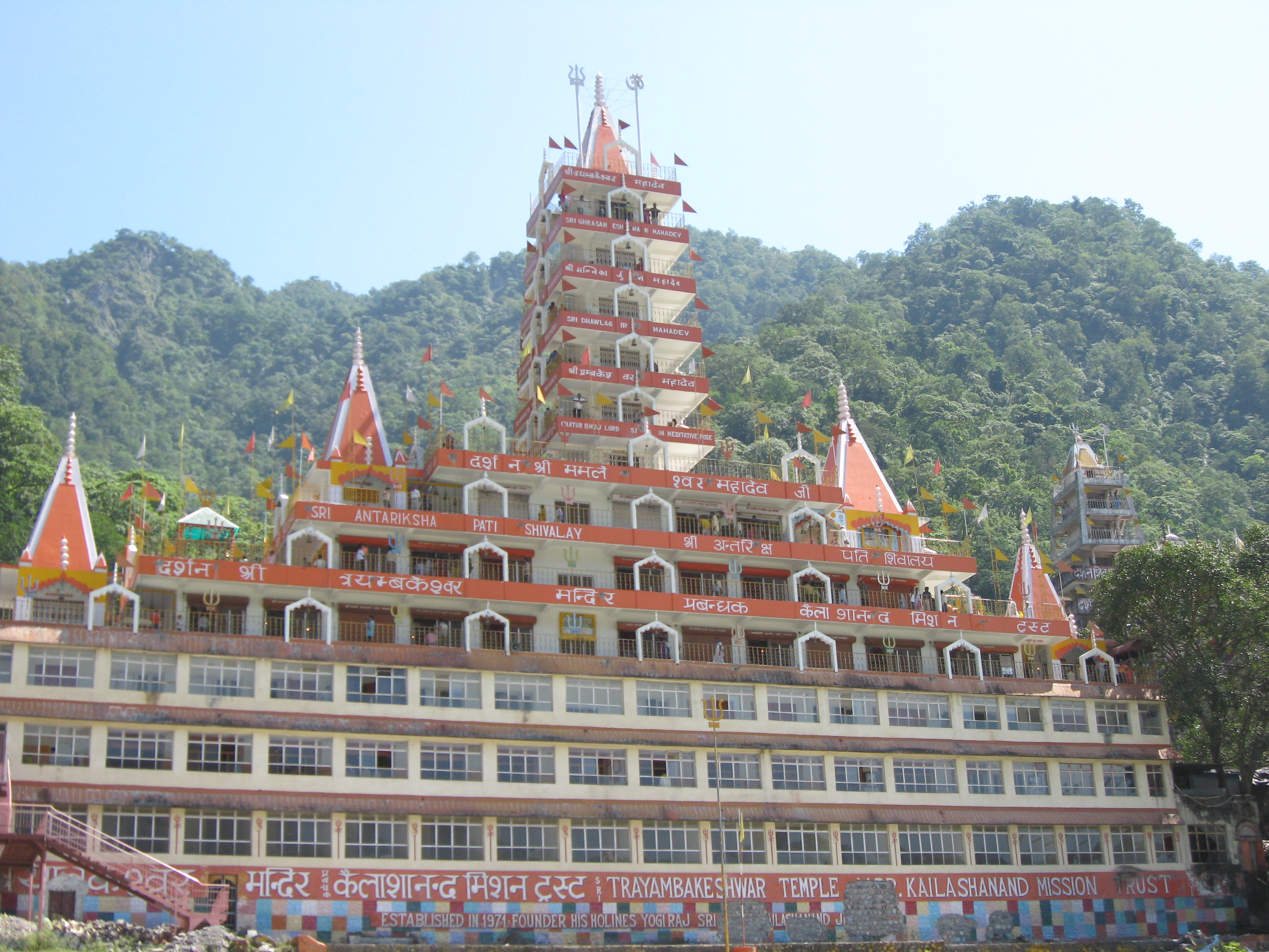 Monkey Ashram in Rishikesh